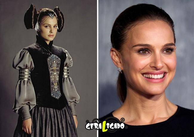 Confira, abaixo, o antes e o depois do elenco de Star Wars4