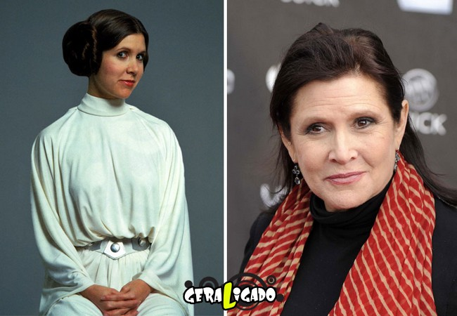 Confira, abaixo, o antes e o depois do elenco de Star Wars5