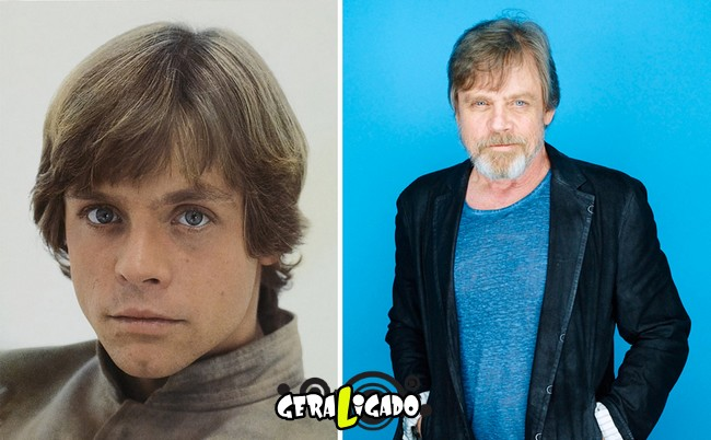 Confira, abaixo, o antes e o depois do elenco de Star Wars7