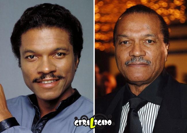 Confira, abaixo, o antes e o depois do elenco de Star Wars8