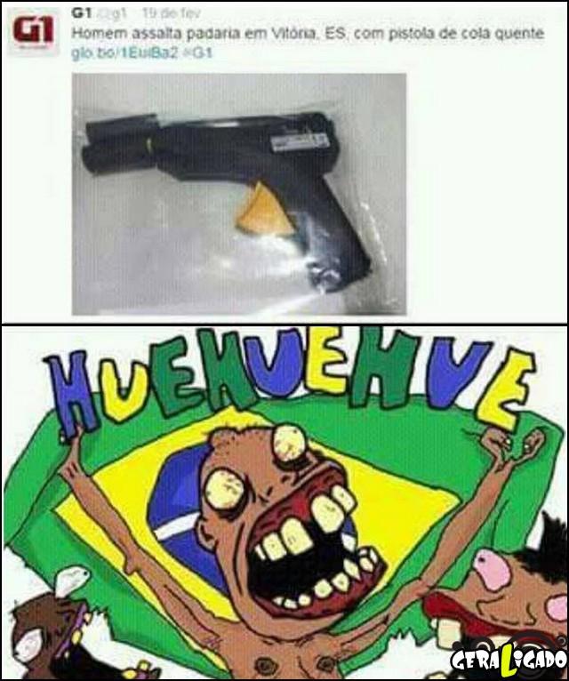 1 Assaltando com pistola de cola quente