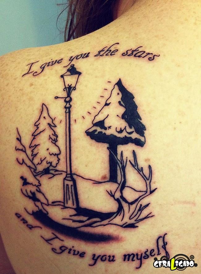 Tatuagens para fãs de livros15