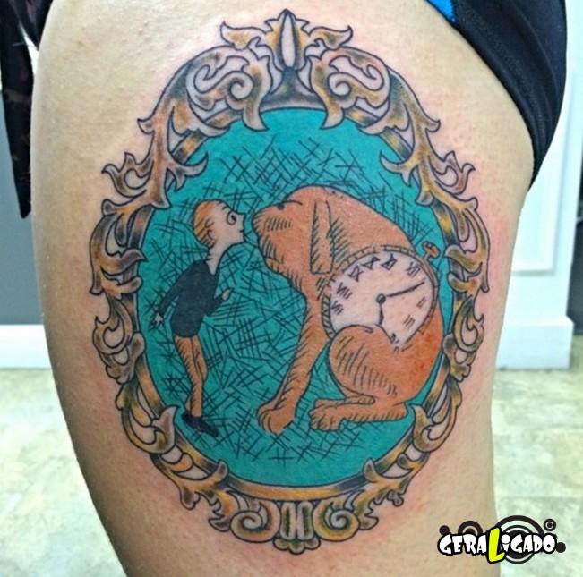 Tatuagens para fãs de livros18