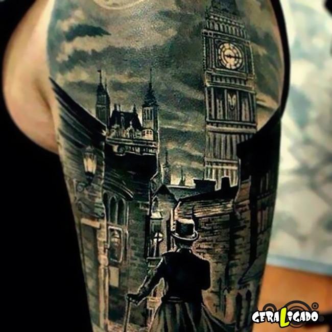 Tatuagens para fãs de livros22