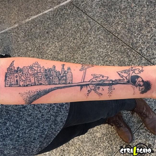 Tatuagens para fãs de livros24