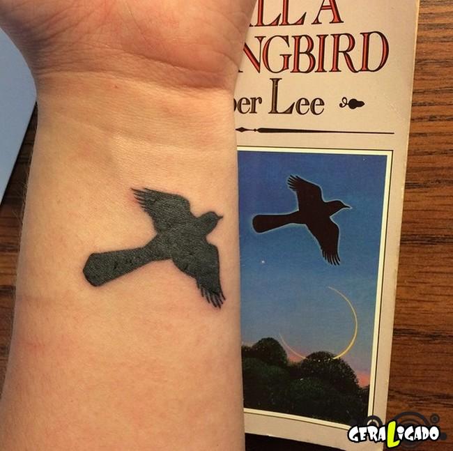 Tatuagens para fãs de livros26
