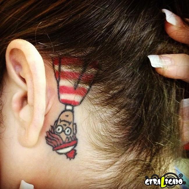 Tatuagens para fãs de livros27