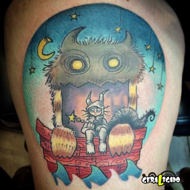 Tatuagens para fãs de livros28