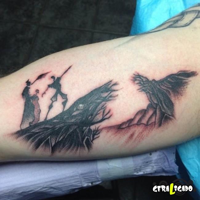 Tatuagens para fãs de livros3