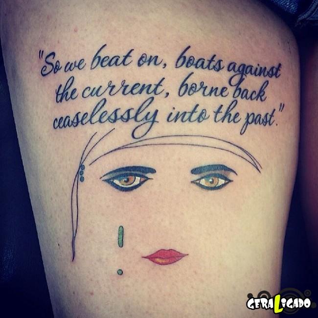 Tatuagens para fãs de livros35