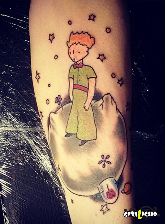 Tatuagens para fãs de livros6