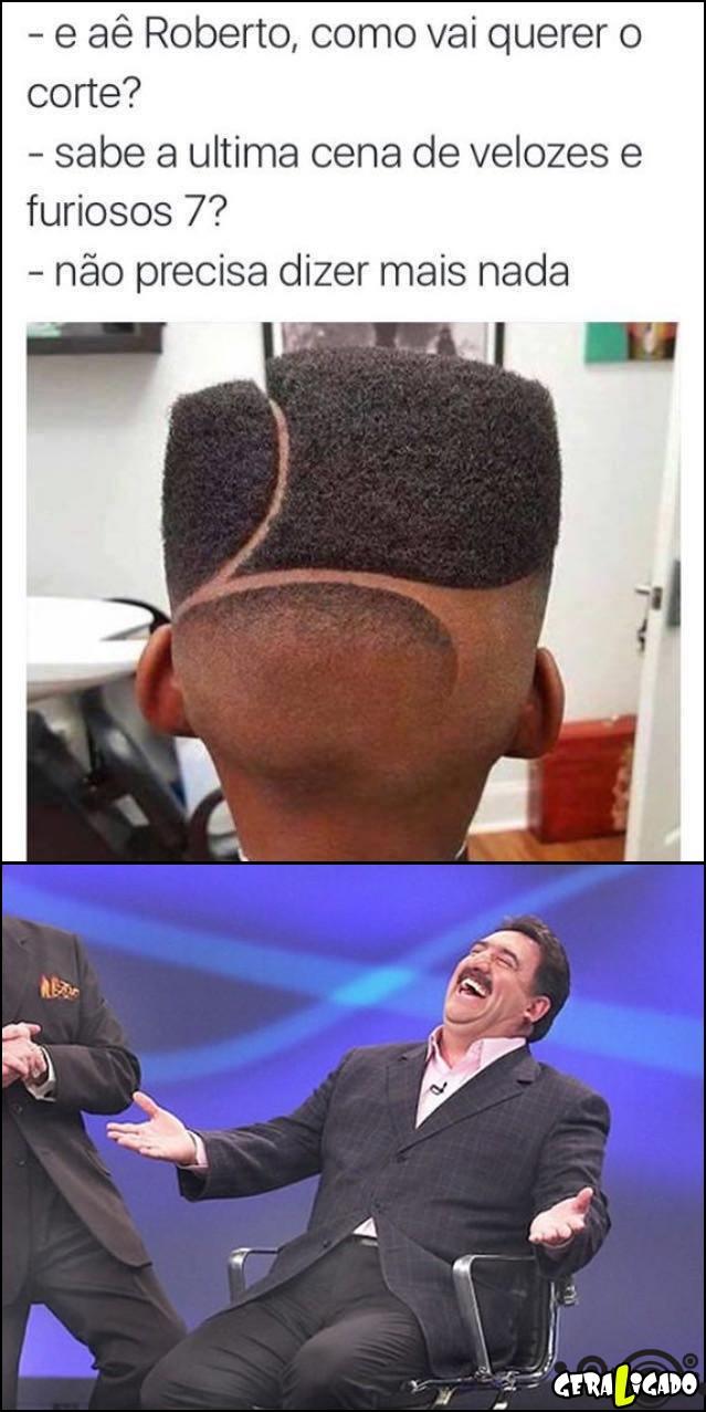 2 Como vai querer o corte no cabelo