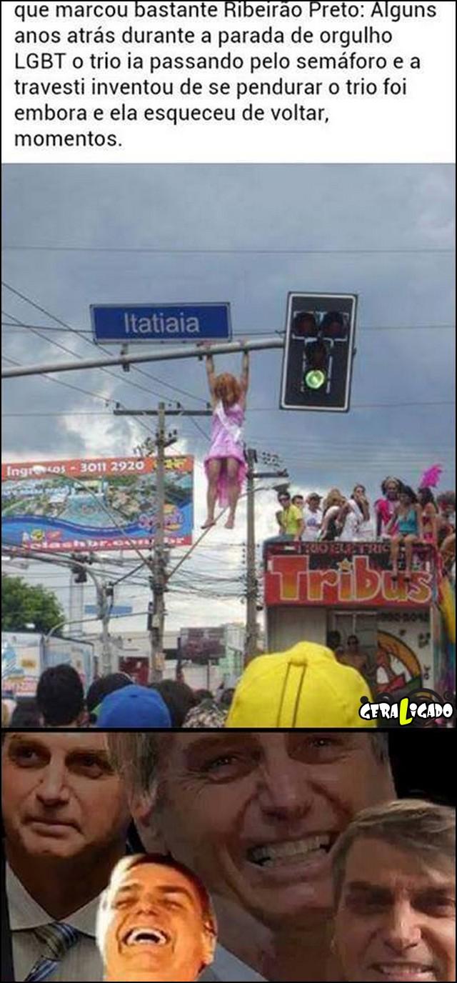 3 Momento epico na parada gay de Ribeirão preto
