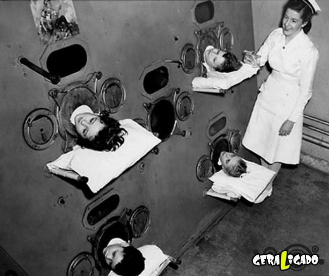 19 fotos horripilantes sobre a medicina do passado18
