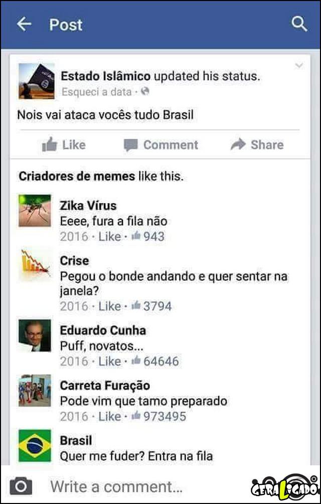 2 Estado islamico vai atacar o brasil
