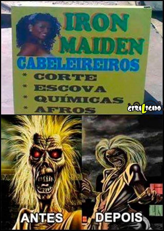 4 Iron Maiden cabeleireiros
