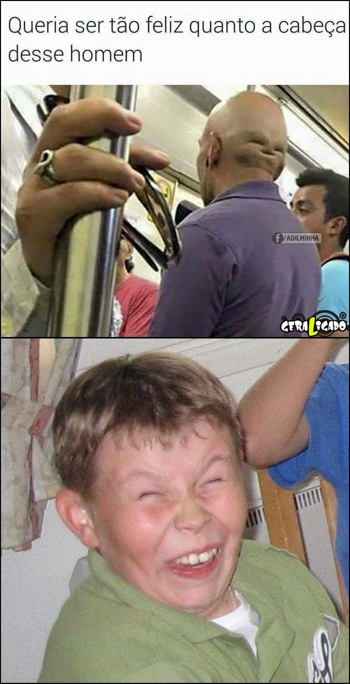 7 A cabeça mais feliz do mundo