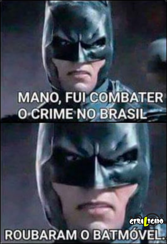 1 Brasil, um pais perigoso até pro Batman