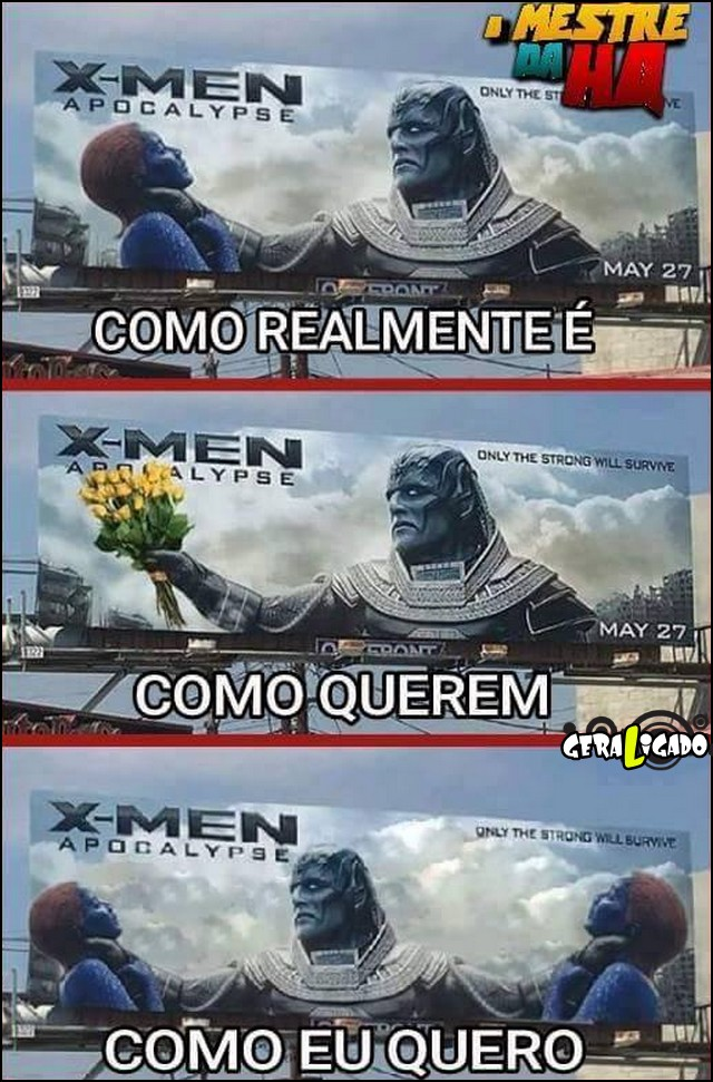 1 Polemica no cartaz X-men apocalypse