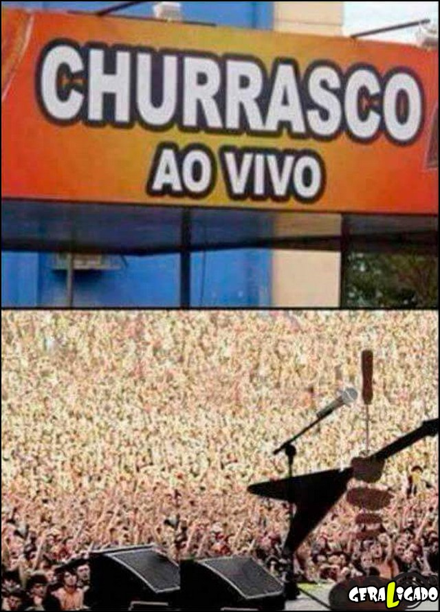 6 Churrasco ao vivo
