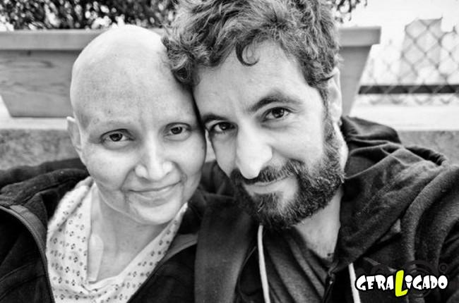 Marido fotografa a evolução do câncer em sua mulher até a morte. 9