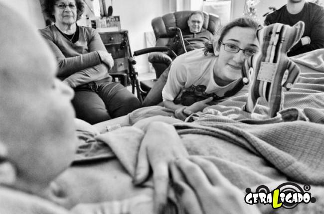 Marido fotografa a evolução do câncer em sua mulher até a morte19