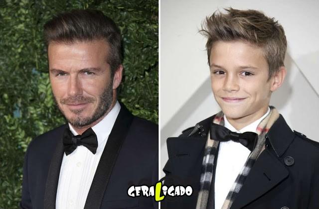 Tão semelhantes tal pai, tal filho!7