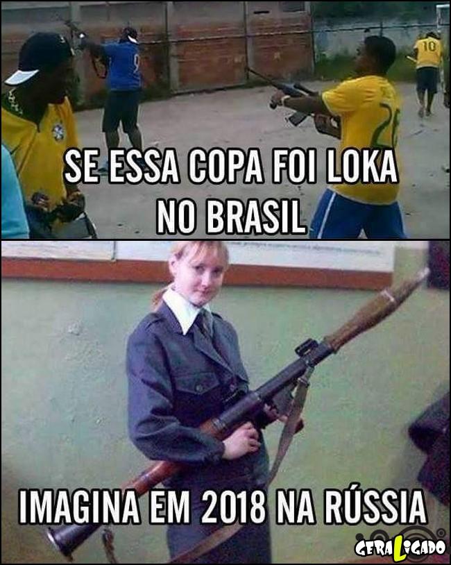 2 2018 a copa do mundo é na Russia