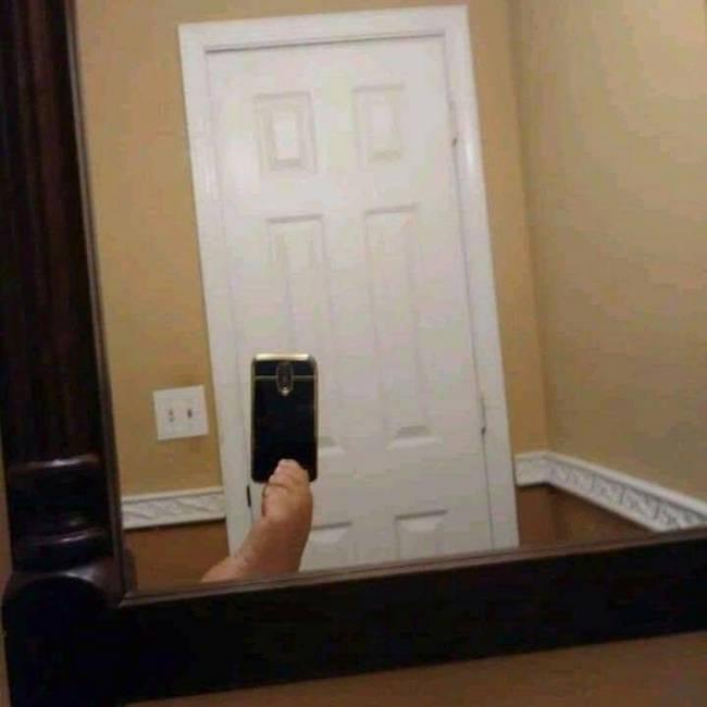 Ja viram o povo tentando vender espelho na olx4