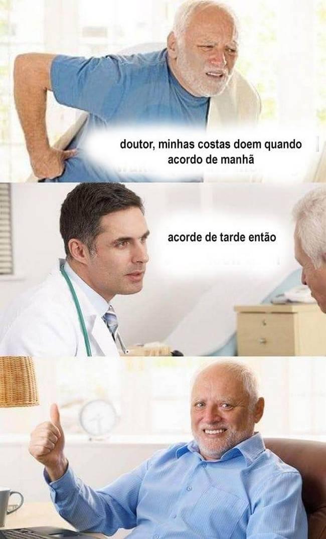 Recomendacões medicas pe tudo..