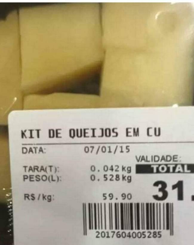 Dá até medo de ir no mercado ultimamente 2