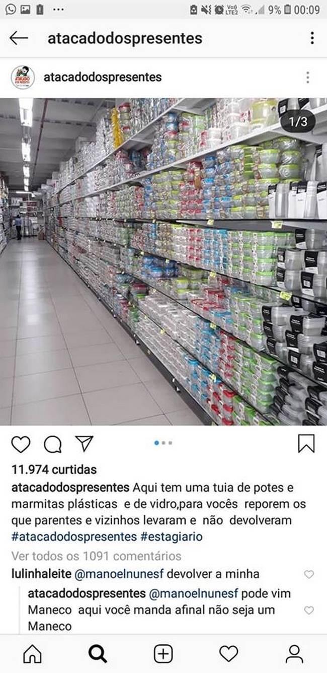Tá pra nascer estagiário no mundo melhor que o do Atacado dos Presentes de Recife15