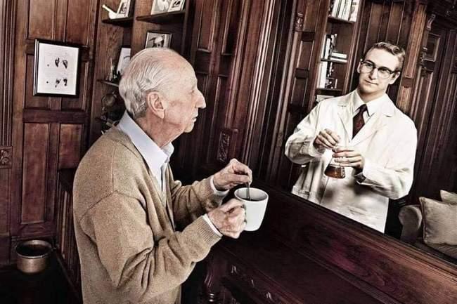 Respeite os idosos. Não fazemos ideia de quem eram antes de os conhecer!!3