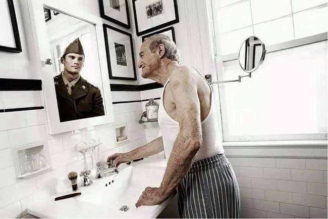 Respeite os idosos. Não fazemos ideia de quem eram antes de os conhecer!!4