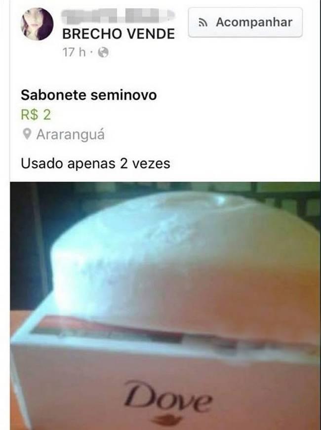 Vendo Sabonete Semi- Novo