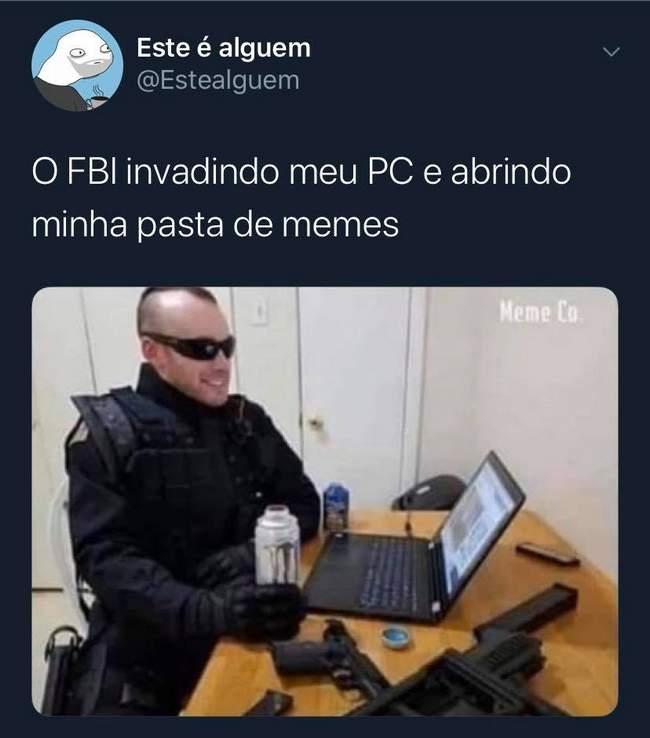 FBI Invadindo meu PC
