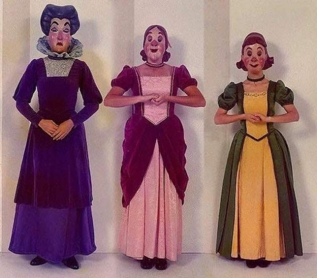 Fotos de Personagens da Walt Disney que te causassem arrepios 7