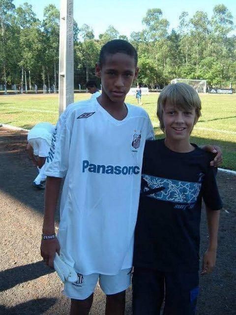 Neymar e o seu futuro padrasto