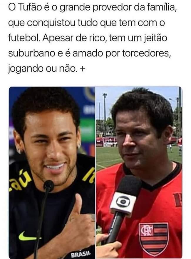Neymar e Tufão são a mesma pessoa!1