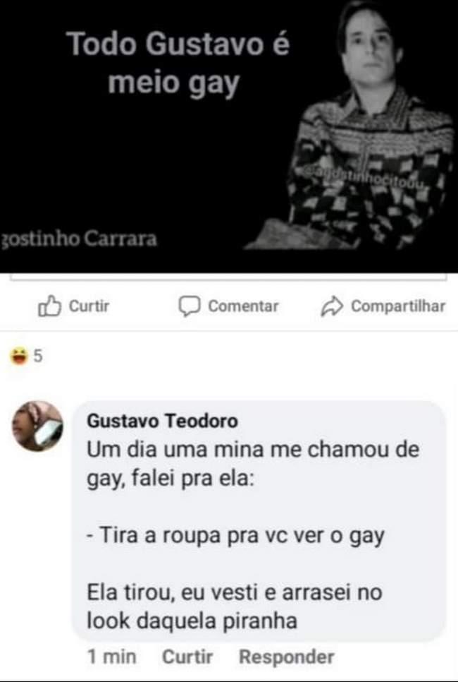 Esse é gay inteiro