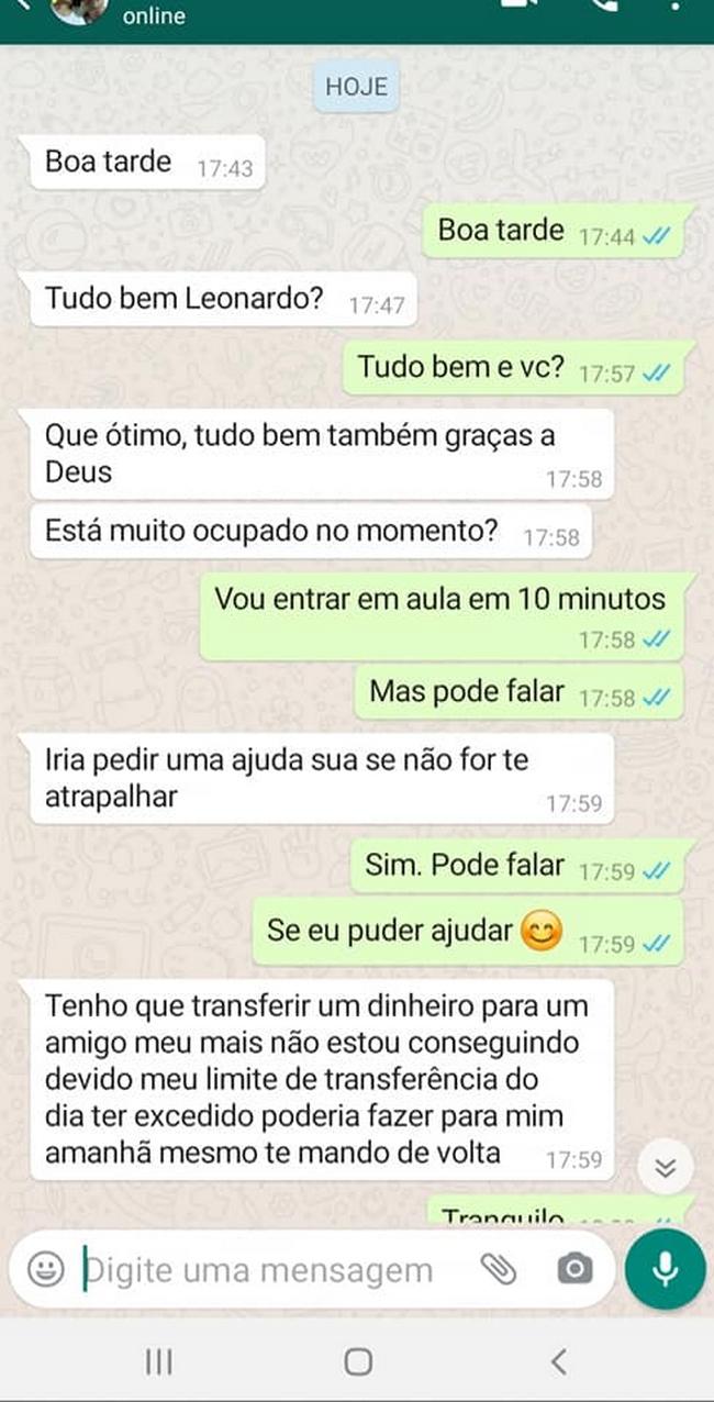 Clonaram o Whatsapp de um amigo… 1