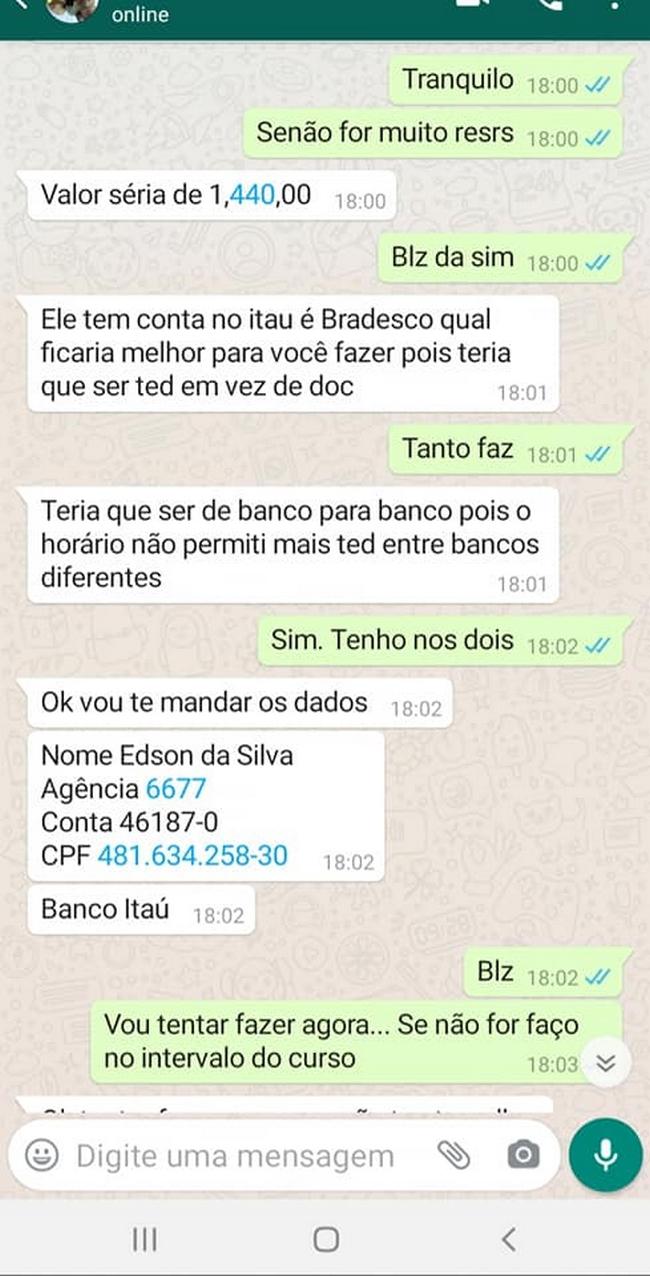 Clonaram o Whatsapp de um amigo… 2
