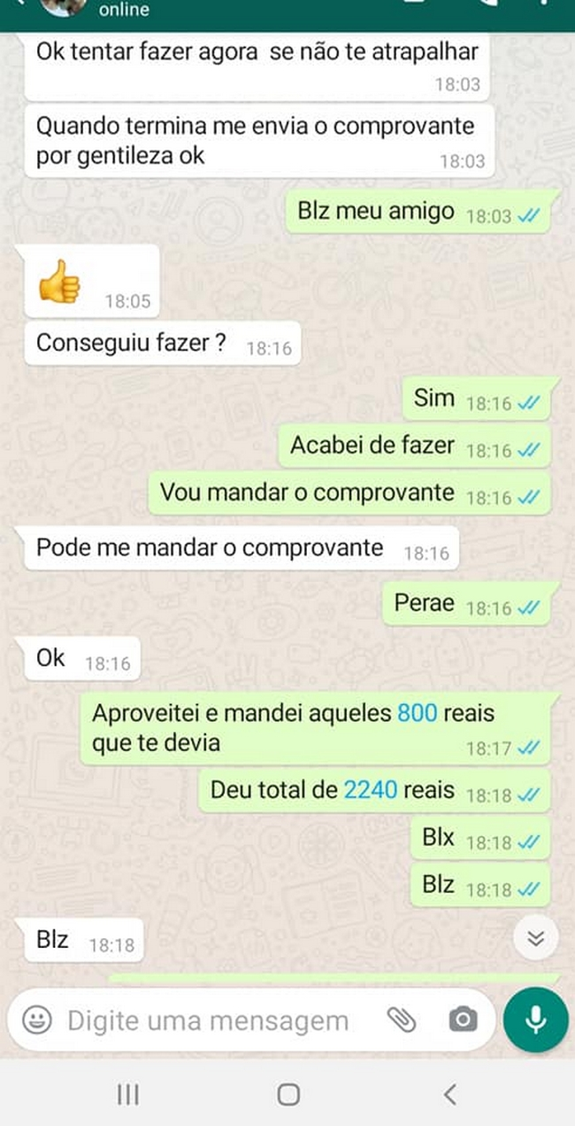 Clonaram o Whatsapp de um amigo… 3