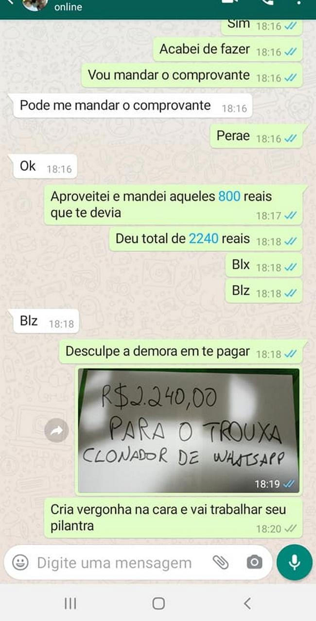 Clonaram o Whatsapp de um amigo… 4