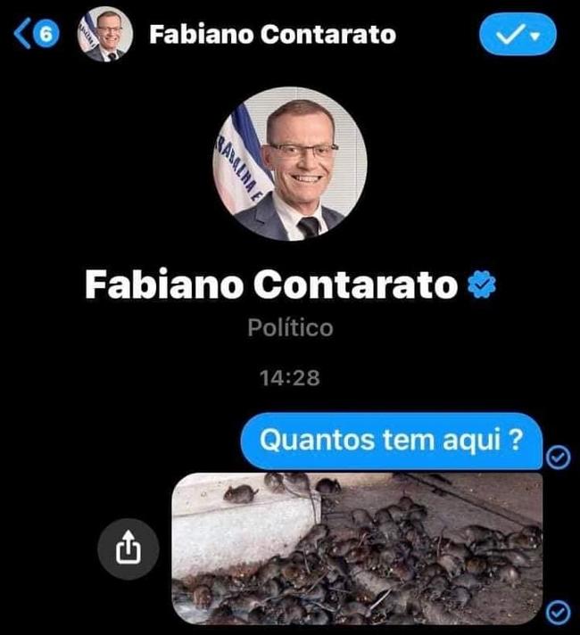 Brasileiro é muito pertubado…6