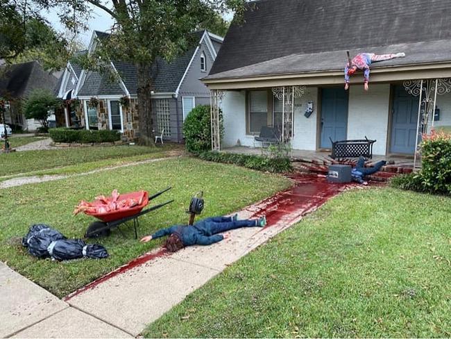 Uma dona de casa do Texas se empolgou com a decoração2