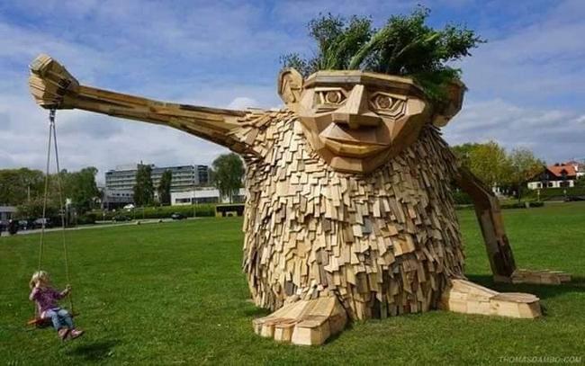 As estátuas mais criativas que você verá na sua vida.23