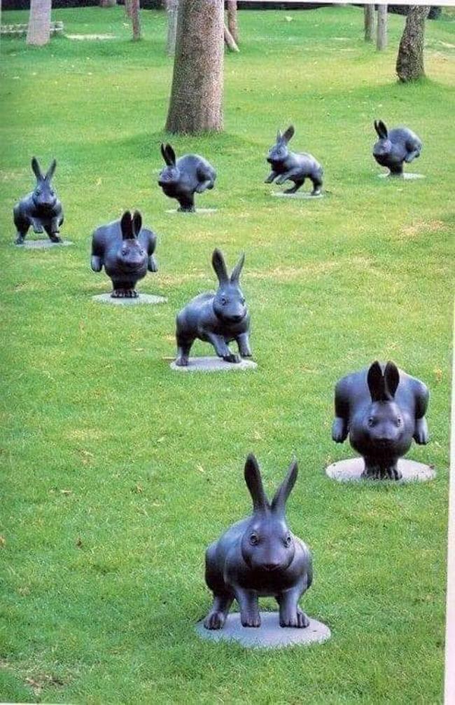 As estátuas mais criativas que você verá na sua vida.8