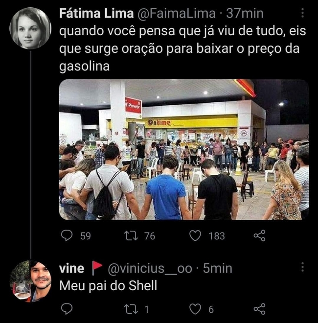 Meu pai do Shell